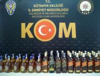 İL EMNİYET MÜDÜRLÜĞÜ - Kütahya'da 42 Şişe Kaçak İçki Ele Geçirildi