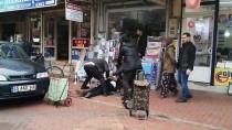 CİNAYET ZANLISI - Manisa'da Cinayet Anı Ve Polisle Çatışma Güvenlik Kamerasına Yansıdı
