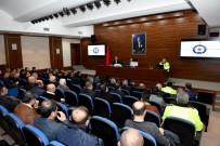 KARAYOLLARI - Mersin'de Otobüs Kazalarının Önlenmesine Yönelik Toplantı