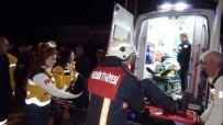 GÜVENLİK GÜÇLERİ - Mersin'de Trafik Kazası Açıklaması 2'Si Ağır 5 Yaralı