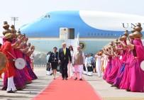 DONALD TRUMP - ABD Başkanı Trump, İlk Resmi Ziyareti İçin Hindistan'da