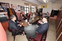 SOSYAL BELEDİYECİLİK - Başkan Asya, Cumhuriyet Ortaokulu'nu Ziyaret Etti