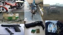KURUSIKI TABANCA - Denizli'de 1 Haftada Çeşitli Suçlardan Aranan 288 Şahıs Yakalandı