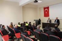 EMNIYET KEMERI - Dumlupınar'da 'Yol Ve Trafik Güvenliğinin Sağlanması' Toplantısı