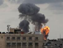 İNSANSIZ HAVA ARACI - Katil İsrail Gazze'yi vurdu!