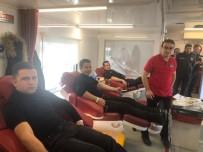 KAN BAĞıŞı - Kargı Polis'inden Kan Bağışına Destek