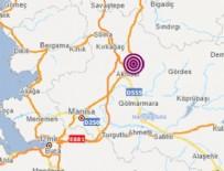SOMA - Manisa'da korkutan deprem! İstanbul ve İzmir'de de hissedildi