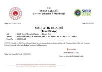 ÇEVRE TEMİZLİĞİ - Nestlé'nin Bursa'daki Her İki Tesisine Birden 'Sıfır Atık' Belgesi