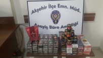 KAÇAK - Polisin Durdurduğu Otomobilde 20 Kilo Kaçak Nargile Tütüne Ele Geçirildi