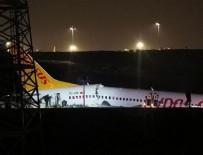 Sabiha Gökçen'deki kazayla ilgili pilot tutuklandı!