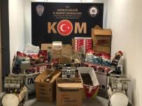 KAÇAK SİGARA - Antalya'da Kaçak Sigara İmalatı Operasyonu