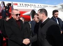 GENÇLİK VE SPOR BAKANI - Cumhurbaşkanı Erdoğan Azerbaycan'a Geldi