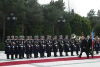 GENÇLİK VE SPOR BAKANI - Cumhurbaşkanı Erdoğan Azerbaycan'da Resmi Törenle Karşılandı