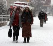 METEOROLOJI - Erzurum'da Yoğun Kar Yağışı Etkili Oluyor