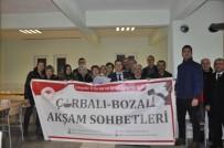 ESKİŞEHİR - İnönü'de 'Çorbalı Bozalı Akşam Sohbetleri'