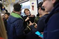 BÜYÜKŞEHİR BELEDİYESİ - İşitme Engelli Çocuklar Tramvayla Şehir Turu Attı