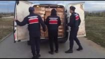 KAÇAK - Kocaeli'de 5 Ton 720 Kilogram Kaçak Tütün Ele Geçirildi