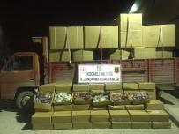 KAÇAK - Kocaeli'de 500 Bin TL Değerinde Tonlarca Kaçak Nargile Tütünü Yakalandı