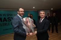 GENÇLİK VE SPOR BAKANI - Rektör Elmacı'dan Kasapoğlu'na Semaver