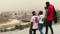 METEOROLOJI - Senegal, Toz Ve Kum Bulutu Altında