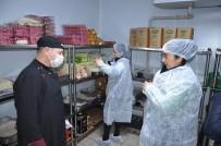 SÜT ÜRÜNLERİ - Uşak'ta 6 Günde Bin 54 Gıda İşletmesi Denetlendi