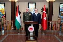 ÜRDÜN - Bakan Akar, Ürdün Genelkurmay Başkanı Al-Hnaity'i Kabul Etti