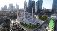 SÜLEYMANIYE - İnşaatına Başlanan Levent Camii Havadan Görüntülendi