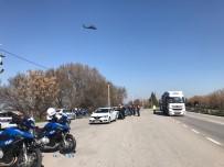 HELIKOPTER - Jandarma Ve Emniyetten Helikopter Destekli Uygulama