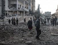 TERÖRİSTLER - Rusya'nın İdlib'e saldırılarında 4 sivil öldü
