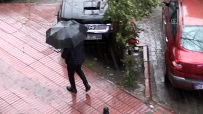 Adana'da Sağanak Ve Dolu Etkili Oldu