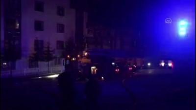 Ankara'da Çatı Yangını Hasara Neden Oldu