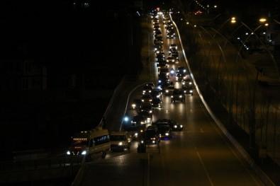Çankırı'da Şehitler İçin 120 Araçlık Konvoy