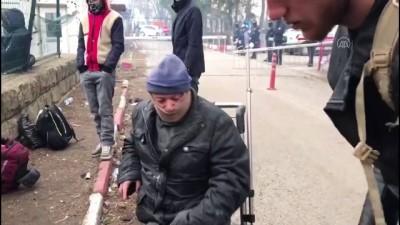 Edirne Valiliği, Engelli Düzensiz Göçmene Tekerlekli Sandalye Verdi