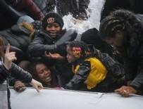 AVRUPA BIRLIĞI - Göçmenler Midilli Adası'na çıkıyor