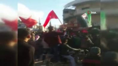 İdlib'de TSK'ya Destek Gösterisi