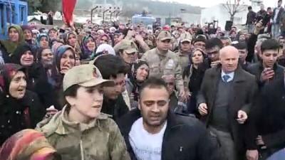 İdlib Şehidi Piyade Uzman Onbaşı Mehmet Orhan Son Yolculuğu Uğurlandı
