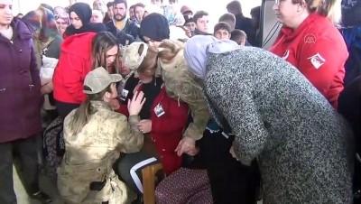 İdlib Şehidi Uzman Onbaşı Veysel Günay Son Yolculuğuna Uğurlandı