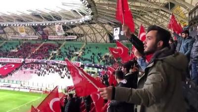 İdlib Şehitleri, Konyaspor-Kasımpaşa Maçında Unutulmadı