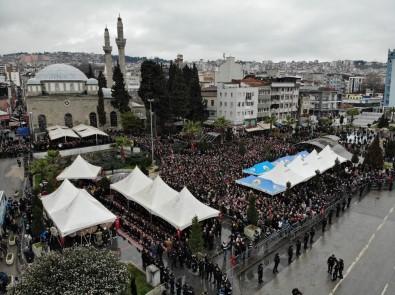 İdlip Şehidini Binler Uğurladı