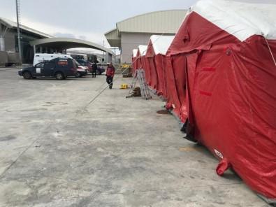 Koronavirüs Tedbirleri; Çıldır-Aktaş Ve Türkgözü Sınır Kapılarında Da Sahra Hastaneleri Kuruldu