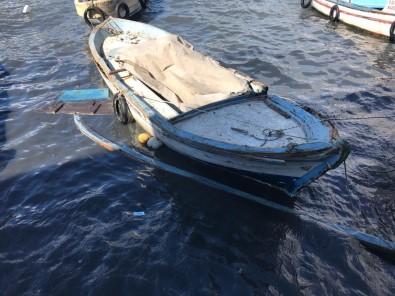 Kuşadası'nda 2 Balıkçı Teknesi Battı