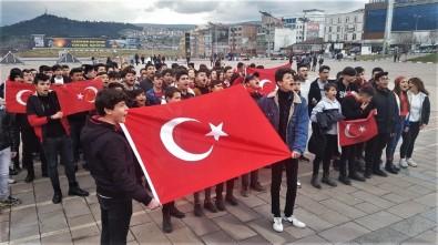 Öğrenciler Mehmetçik İçin Tek Yürek Oldu
