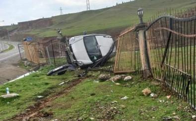Siirt'te Otomobil Devrildi Açıklaması 1 Yaralı