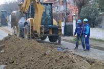 ŞEBEKE HATTI - Aydın Büyükşehir Belediyesi, Söke'de Çalışmalarını Sürdürüyor