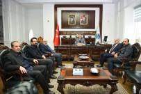 İSTANBUL TICARET ODASı - Başkan Güder'e Geçmiş Olsun Ziyaretleri