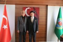 ZEYTİN AĞACI - Başsavcı Yapar'dan Başkan Atıcı'ya İade-İ Ziyaret