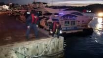 DENİZ POLİSİ - Beşiktaş'ta Denizde Erkek Cesedi Bulundu