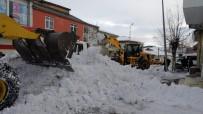 TAŞIMALI EĞİTİM - Bingöl'de Karla Mücadele Çalışmaları