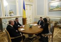 CUMHURBAŞKANLIĞI - Cumhurbaşkanı Erdoğan, Ukrayna Devlet Başkanı Zelenskiy İle Görüştü