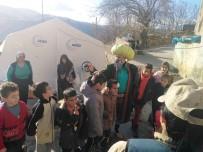 EĞİTİM DERNEĞİ - Depremzede Çocuklara Tiyatrolu Destek